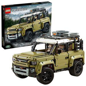 LEGO 42110 Technic Land Rover Defender, 4x4 Geländewagen, exklusives Sammlerstück, Bauset für Fortgeschrittene