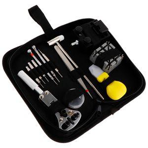 1 Satz (30 Stück) Uhrenwerkzeug Set  Uhr Reparatur Uhrmacherwerkzeug Uhr Werkzeug Tasche Watch Tools in Schwarze Nylontasche