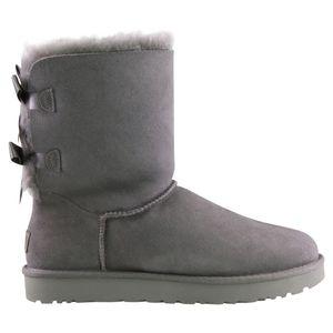 UGG Bailey Bow II Boot Stiefel Damen Grau (1016225 GREY) Größe: 38 EU