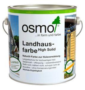 Osmo Landhausfarbe lichtgrau für Holz im Außenbereich 2500ml