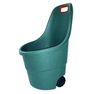 Gartentrolley / Kübelschubkarre Tepro Easy Go grün 60 Liter