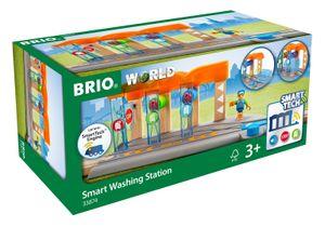 BRIO World - 33874 Smart Tech Waschanlage für Züge