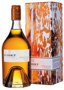 Godet Cognac V.S. Classique | 0,7l. Flasche in Geschenkverpackung