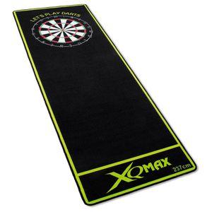 Turnier Dartmatte 237x80cm offizieller Spielabstand Dartteppich Dart Matte grün schwarz