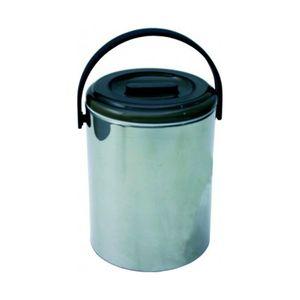 Eiswürfelbehälter Eiseimer Edelstahl 2,2L