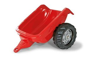 Anhänger für Trefahrzeug rolly Kid Trailer rot - Rolly Toys