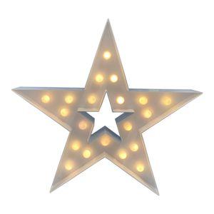 XL LED Stern Weihnachtsstern Weihnachtsbeleuchtung Weihnachtsstern Batterie