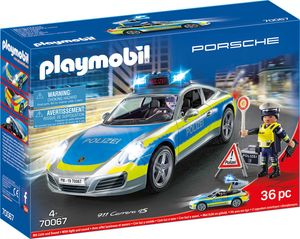PLAYMOBIL Porsche 911 Carrera 4S Polizei, 70067