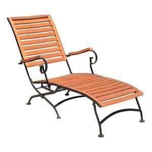 Garden Pleasure Garten Deckchair Holz Sonnenliege Relax Liege Liegestuhl