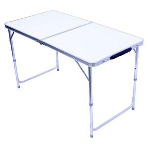 Multifunktionstisch Tapeziertisch Campingtisch Klapptisch klappbarer Markttisch 120 x 60 cm - Schwarz