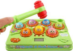 Hammerspiel ab 2 3 4 5 6 7 8 Jahre, Montessori Interaktives Spielzeug, Entwicklungskinderspiele Musik Klopfspiel, Montessori Spielzeug für Kinder/Baby/Kleinkinder, Lernspielzeug Geschenk für Jungen Mädchen