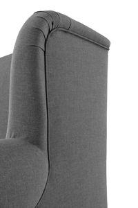 Max Winzer Mareille Big-Sessel inkl. 2x Zierkissen 55x55cm + 40x40cm - Farbe: anthrazit - Maße: 103 cm x 149 cm x 103 cm; 2902-754-1645214-F09