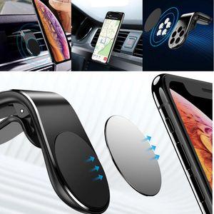 Handyhalter fürs Auto, Magnet Handyhalterung, Lüftung Autohalterung, Smartphone GPS Magnethalterung Handy, KFZ Handy Magnetisch Lüftungsschlitz