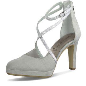 Tamaris Damen Pumps Riemchenpumps High-Heels 1-24406-24, Größe:41 EU, Farbe:Grau