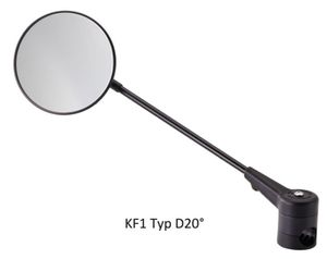 KRAMPE Fahrradspiegel KF1  20°