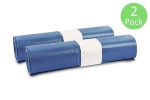 Müllsäcke, 50 St. extra starke blaue Müllbeutel, 120 l Fassungsvermögen, 700 x 1.100 mm, Typ 70 mit 42 my, besonders reißfest, ideal für Garten, Umzüge, Entrümpelungen & Haushalt, 2er Pack