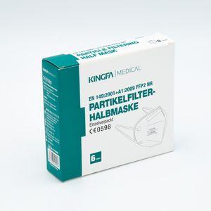 60 x KINGFA Atemschutzmaske FFP2 Maske einzeln verpackt
