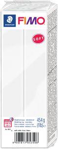 FIMO SOFT Modelliermasse ofenhärtend weiß 454 g