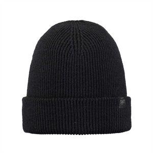 BARTS Unisex Mütze - Kinabalu Beanie, One Size, einfarbig Schwarz