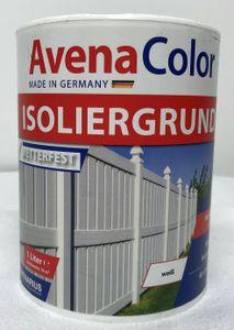 Isoliergrund weiß 1 Liter wetterfest innen & außen für alle Hölzer