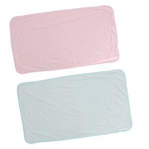 2 x Waschbarer Inkontinenz Bettunterlage Inkontinenzauflage Inkontinenzunterlage für Erwachsene und Baby, 70 x 120 cm