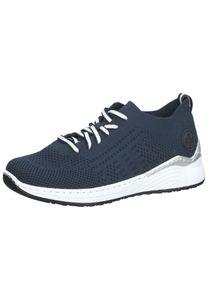 Rieker Damen Sneaker in Blau, Größe 41