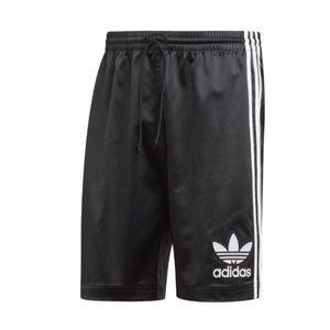 adidas Short Herren aus Satin schwarz aus der adidas Originals Kollektion, Größe:XL