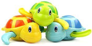 3 Stück Baby Badespielzeug Schildkröte Kunststoff Badewanne Spielzeug