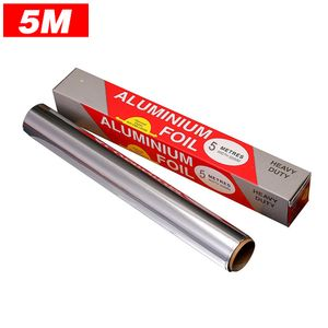 """Aluminiumfolienrolle Hochleistungs-Antihaft-Dick-Aluminiumfolien-Backblech-Grillwerkzeug 11,8 """"x 16,4 Ft"""