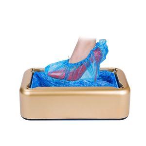 Schuhabdeckungsmaschine Automatischer Schuhabdeckungsspender Kofferraumabdeckungsmaschine Tragbare Schuhabdeckungsspender mit rutschfester Matte fuer die Heimlaborfabrik