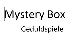 Mystery Box Geduldspiele - Überraschungspaket – Abendgestaltung