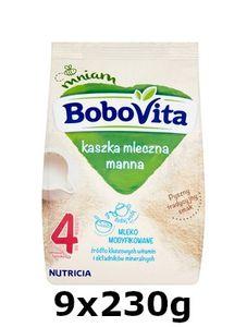 GroßhandelPL Bobovita Milchbrei Manna nach 4 Monaten 9x230g