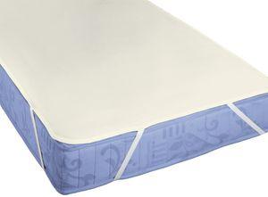 biberna Molton Matratzenauflage Premium Uni 150x200 cm Natur