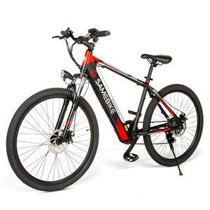 "SAMEBIKE Elektrofahrrad Mountainbike 8Ah 36V 250W E-Bike 26""Fahrrad mit Motor 30km/h bis150kg --Schwarz"