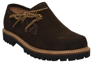 Haferlschuhe Trachtenschuhe Trachten Schuhe echtleder wildleder Dunkelbraun, Schuhgröße:44