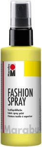 "Marabu Textilsprühfarbe ""Fashion Spray"" zitron 100 ml"