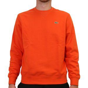 Lacoste Fleece-Sweatshirt Herren Rot (SH1505 Y0U) Größe: 4 (M)