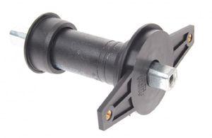 Gazelle tretlager mit Kettenschutz JIS 133 / 38 mm schwarz