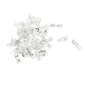 100 Stück Ohrhaken Farbe Silber