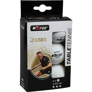 V3TEC 3 Sterne Tischtennisball weiß
