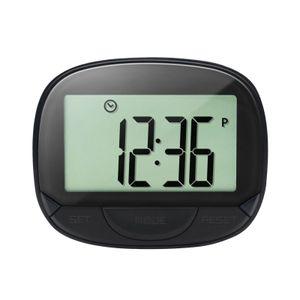 Multifunktionaler Schrittz?hler 3D-Schrittz?hler mit Clip fš¹r Fitness-Tracker zur Verfolgung von Schritten / Gehentfernung / Kalorien Tragbarer Fitness-Monitor mit Uhrfunktion