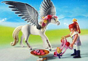 PLAYMOBIL Princess Pegasuskutsche beim Königspavillion 5052