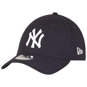 New Era 39Thirty League Cap - NY YANKEES - Black/Black, Size:S/M