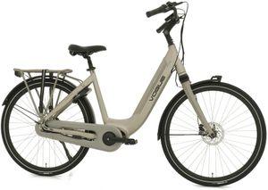 Vogue E-Bike Stadt Fahrräder Mestengo 28 Zoll 49 cm Frau 8G Hydraulisch Scheibenbremse Grau
