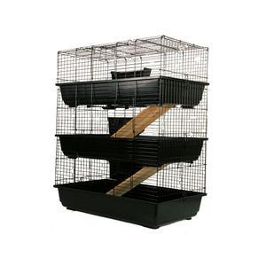 MyPets® Nagerkäfig TOWER CAGE 3-Stöckig Nagervoliere Hamsterkäfig Käfig Voliere Hamster