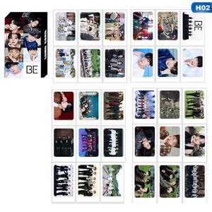 60 Stk/Set Lomo Karten Fotokarte Kpop BE HD-Fotokartenplakat Postkarte Geschenk für Fans