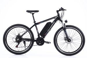 """Vielfly M102 26"""" E-bike Mountain Elektrofahrrad  48v Shimano 21 Gang lange Reichweite"""