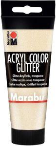 Marabu Acrylfarbe Acryl Color 100 ml glitter-gold 584