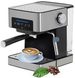 Camry Espresso Maschine | Siebträger | Kaffeemaschine | Cappuccinomaschine | Milchaufschäumer | 15 Bar | 1000 Watt