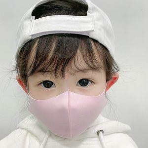 Kinder Schutz Atmungsaktiv Waschbar Anti Tröpfchen Staubdicht Gesicht Mund Maske Für  (Rosa)